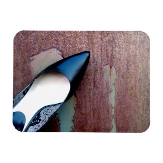 Pointy Toe Pump Rectangular Photo Magnet