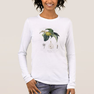 Poire d'ange, engraved by Bocourt, published 1755 Long Sleeve T-Shirt