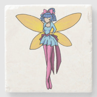 """Poise"" Simple Fairy Beverage Coaster"