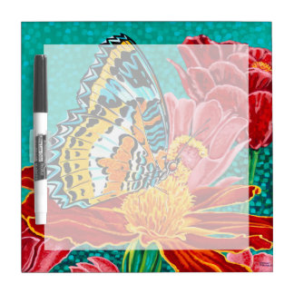 Poised Butterfly I Dry Erase Board