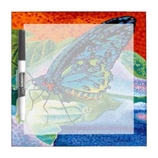 Poised Butterfly II Dry Erase Board