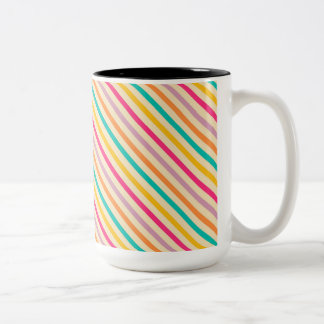 Poised Pleasant Heavenly Self-Disciplined Two-Tone Mug