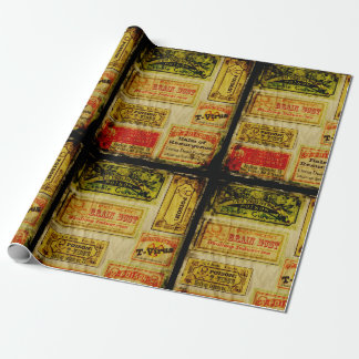 Poison Apothecary Gift Wrapping Paper