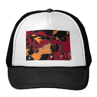 Poison Apple Abstract Hat