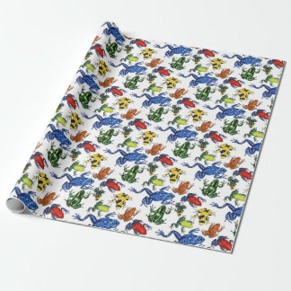 Poison Arrow Frog Wrapping Paper