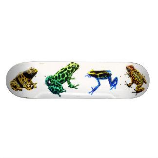 Poison Arrow Frogs Skateboard
