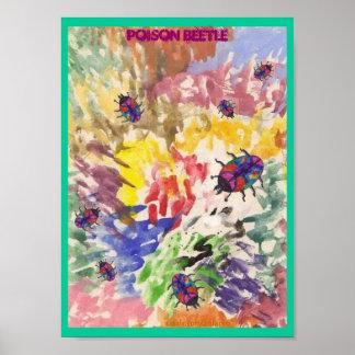 Poison Beetle/Splat Poster