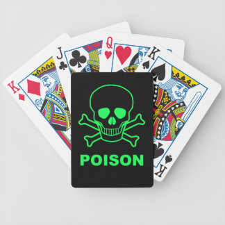 Poison Bicycle Playing Cards