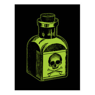 Poison Bottle Postcard