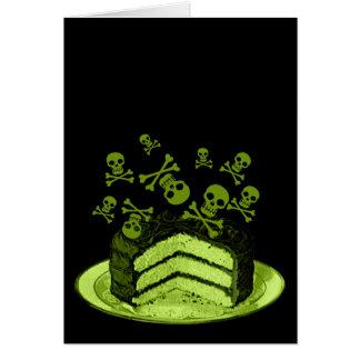 Poison Cake Card