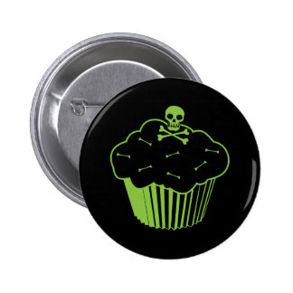 Poison Cupcake 6 Cm Round Badge
