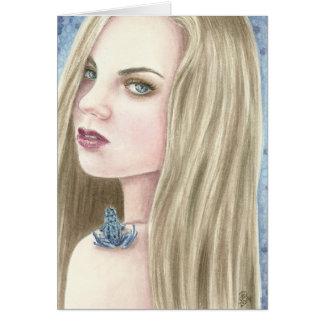 Poison Dart by Deanna Bach Art Greeting Card