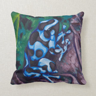 Poison Dart Frog #3 Cushion