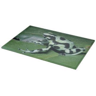 Poison Dart Frog, (Dendrobates auratus) Cahuita Cutting Board