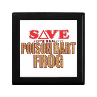 Poison Dart Frog Save Gift Box