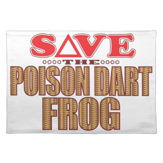 Poison Dart Frog Save Placemat