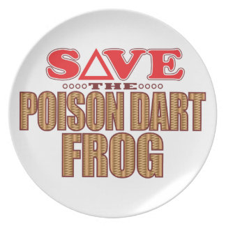 Poison Dart Frog Save Plate