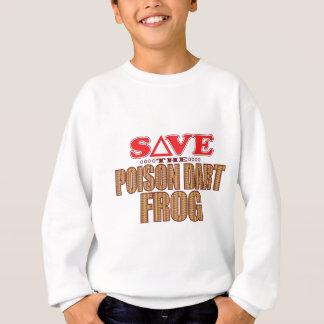 Poison Dart Frog Save Sweatshirt