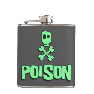 Poison Drink Flask Funny Valentines