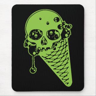 Poison Ice Cream Cone Mouse Pad