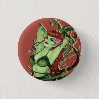 Poison Ivy Bombshell 3 Cm Round Badge