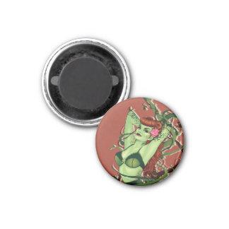 Poison Ivy Bombshell 3 Cm Round Magnet