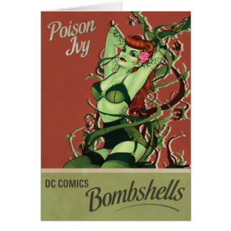Poison Ivy Bombshell Cards