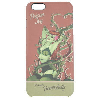 Poison Ivy Bombshell Clear iPhone 6 Plus Case