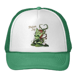Poison Ivy Bombshell Mesh Hats