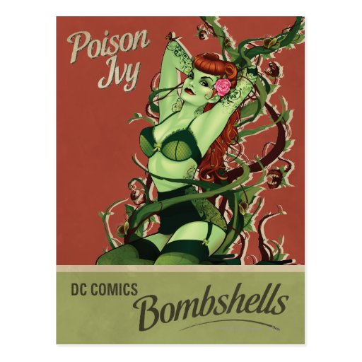 Poison Ivy Bombshell Post Cards