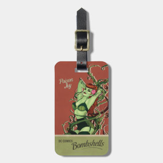 Poison Ivy Bombshell Tag For Bags