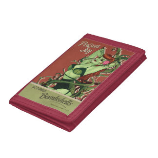 Poison Ivy Bombshell Tri-fold Wallet