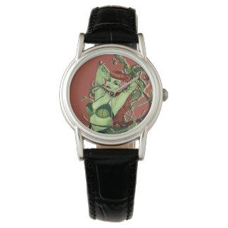 Poison Ivy Bombshell Wrist Watch