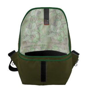 Poison Ivy Courier Bag
