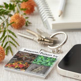 Poison Ivy Keychain