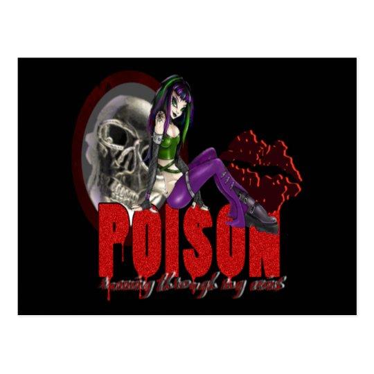 Poison - Postcard