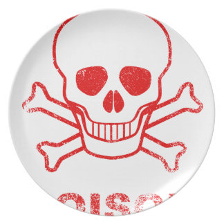 Poison Red Ink Stamp Plate