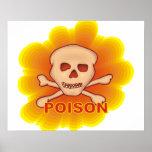 Poison Skull Poster