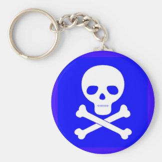 Poison Symbol Key Ring