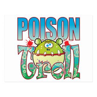 Poison Troll Postcard