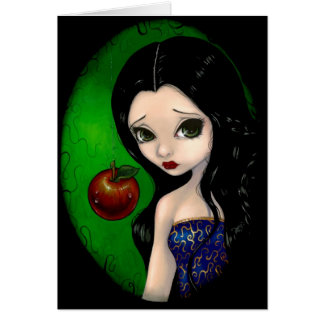 """""""Poisoned Apple"""" Greeting Card"""