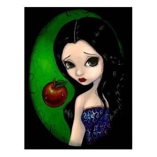 """Poisoned Apple"" Postcard"