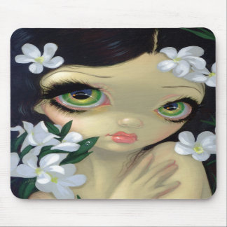 """Poisonous Beauties II: White Oleander"" Mousepad"
