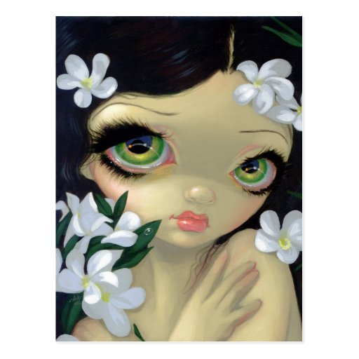 """Poisonous Beauties II: White Oleander"" Postcard"