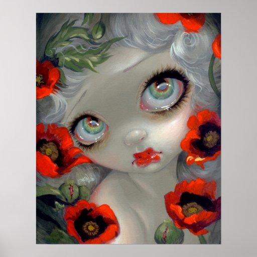 Poisonous Beauties III: Opium Poppy ART PRINT