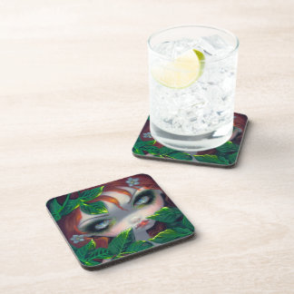 """Poisonous Beauties IV: Poison Ivy"" Coaster"