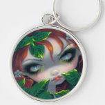 """""""Poisonous Beauties IV: Poison Ivy"""" Keychain"""