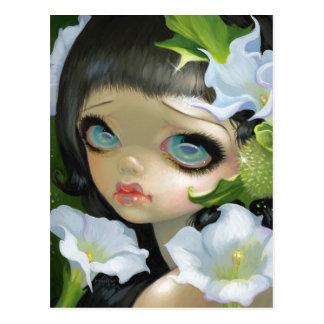 """""""Poisonous Beauties V: Datura"""" Postcard"""