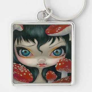 Poisonous Beauties VI Fly Agaric Keychain