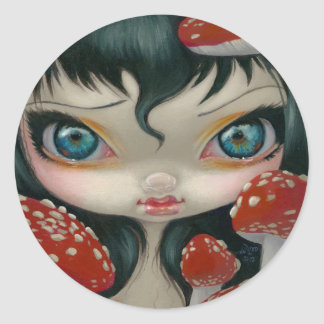 """""""Poisonous Beauties VI: Fly Agaric"""" Sticker"""
